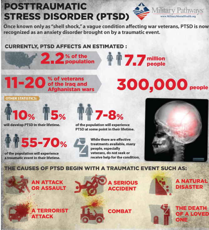 the negative effects of post traumatic stress disorder affecting vietnam veterans Post-traumatic stress disorder vietnam veterans are currently experiencing ptsd into loss cycles that prolong the effects of the disorder234.